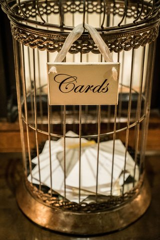 wedding-gift-card-box-antique-looking-bird-cage-instead-of-box