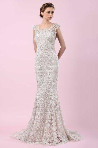 gemy-maalouf-2016-mermaid-wedding-dress-with-intricate-pattern