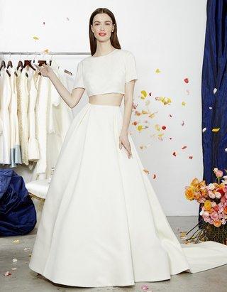short-sleeve-crop-top-with-ball-gown-skirt-dee-hutton