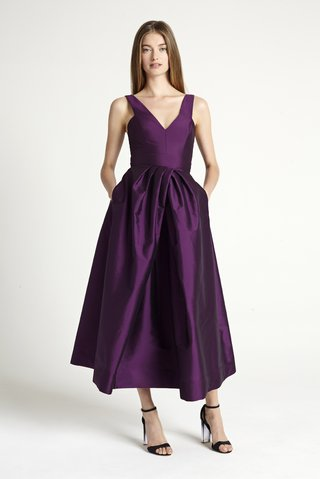 purple-tea-dress-monique-lhuillier-bridesmaid-collection-2016