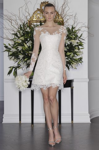 short-wedding-dress-with-sheer-long-sleeves