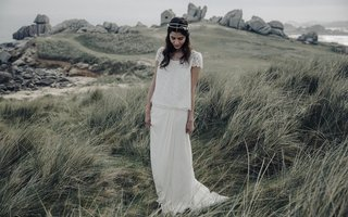 laure-de-sagazan-2017-collection-cyrano-marot-flowing-blouse-illusion-cap-sleeves-lace-long-skirt