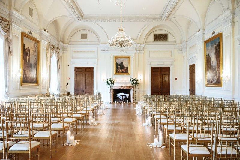 Classic Oheka Castle Wedding Ceremony
