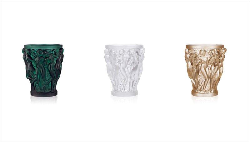 """Lalique """"Bacchantes"""" Vase"""