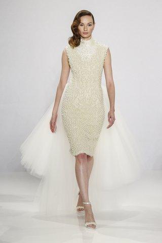 christian-siriano-for-kleinfeld-bridal-short-sleeveless-wedding-dress-with-pearl-beading-high-neck