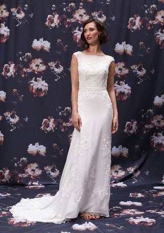 lace-bateau-neckline-wedding-dress-by-ivy-and-aster-fall-2016
