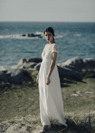 laure-de-sagazan-2017-collection-vadim-deep-v-neck-gown-illusion-cap-sleeves-empire-floral-skirt