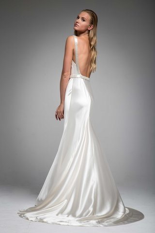 back-of-low-back-wedding-dress-in-silk-satin-beaded-straps-hannah-sarah-janks-fall-2016