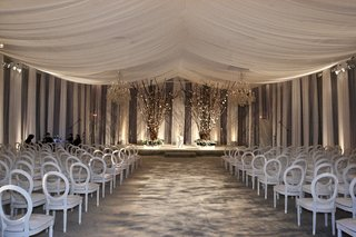 white-and-grey-wedding-ceremony-decorations-for-ballroom
