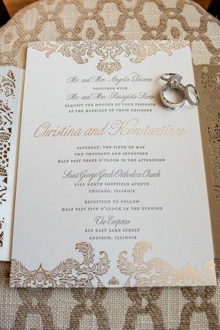 wedding-invitation-by-ceci-new-york-gold-filigree-laser-cut-details-gold-calligraphy-wedding-invite