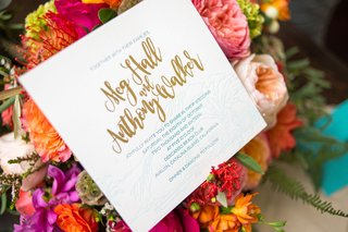 invitations-in-gold-blue-and-white-with-calligraphy