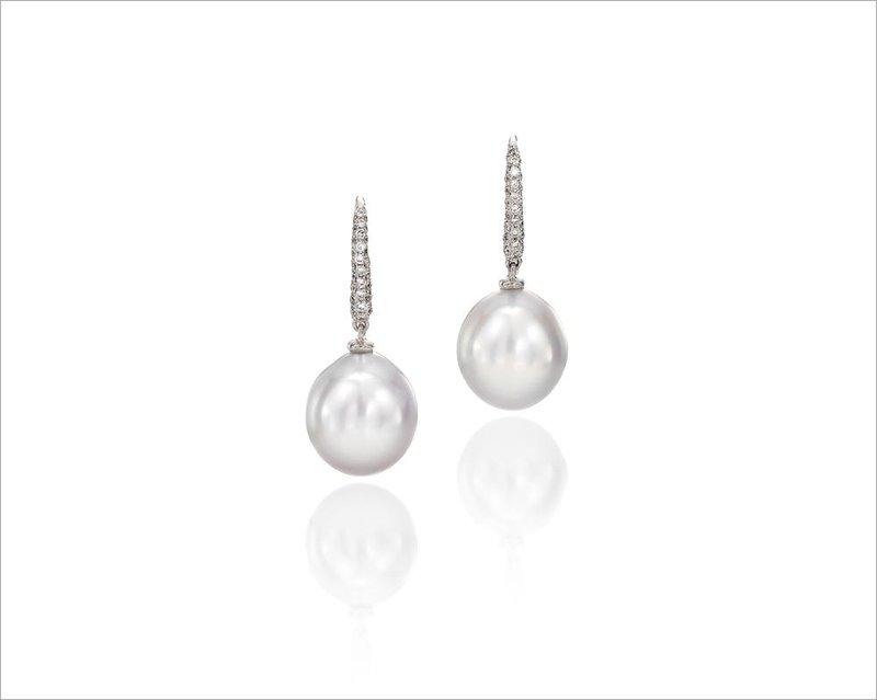 Assael South Sea Cultured Pearl Drop Earrings