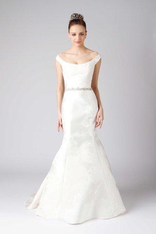 modern-trousseau-spring-2017-saffron-off-the-shoulder-scoop-neck-fit-and-flare-wedding-dress-satin