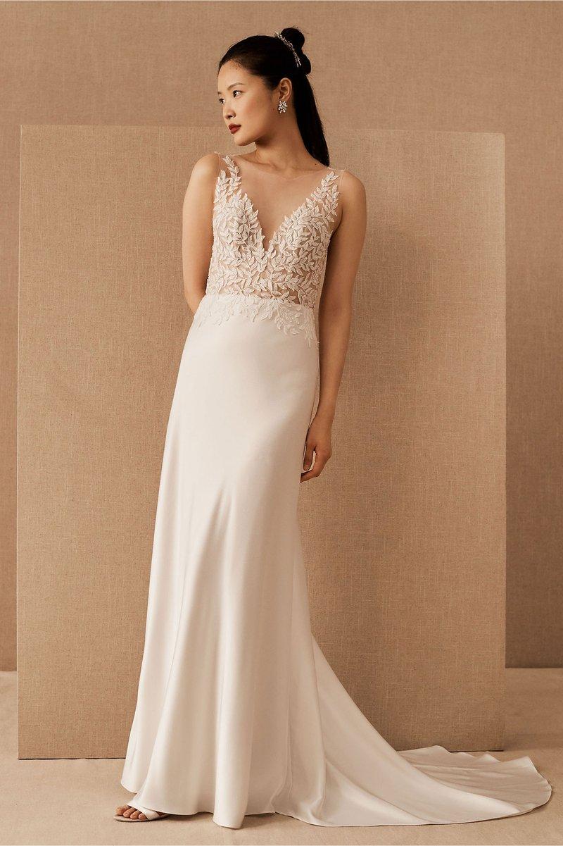 """Zola"" Wedding Dress by Jenny by Jenny Yoo"