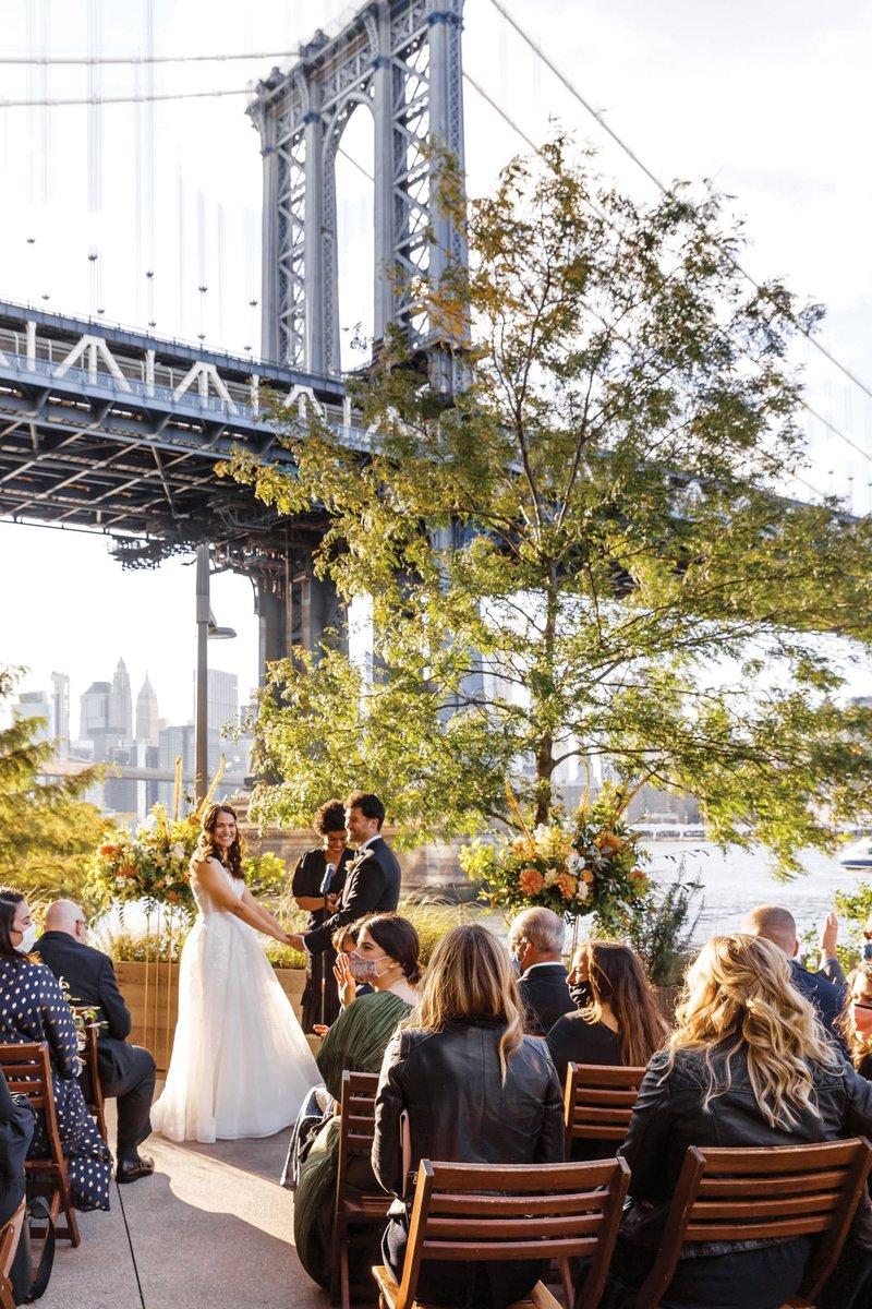 New York Wedding at a Restaurant
