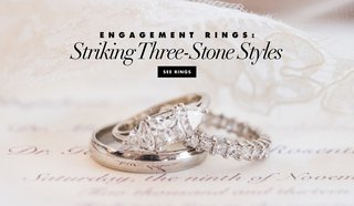 engagement-ring-inspiration-from-real-weddings-three-stone-styles