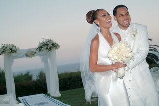 lisa-coffey-and-demetrius-spencer-at-wedding