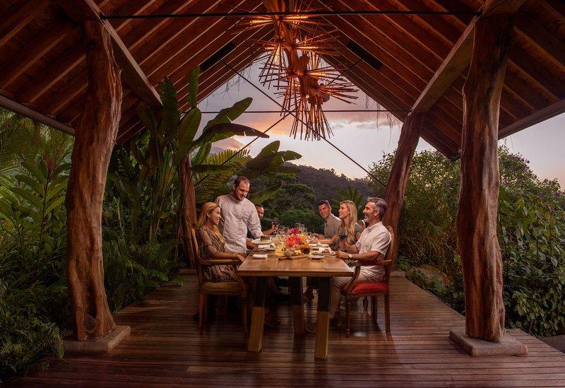 ORIGINS Luxury Lodge - Guests Enjoying Dinner