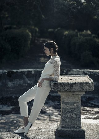 laure-de-sagazan-2017-collection-wagner-jumpsuit-high-neck-illusion-bodice-three-quarter-sleeves