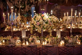 silver-and-crystal-candelabra-and-round-arrangements