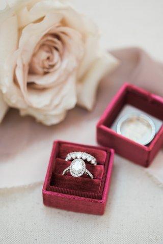 oval-diamond-halo-engagement-ring-eternity-wedding-band-of-halo-diamond