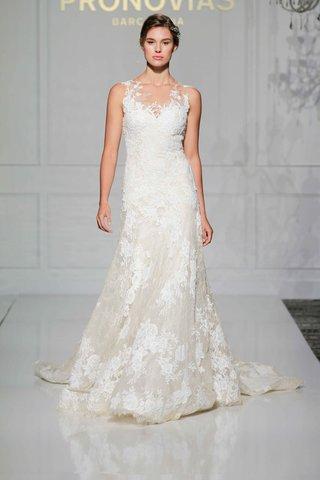 pronovias-2016-a-line-wedding-dress-with-chantilly-lace