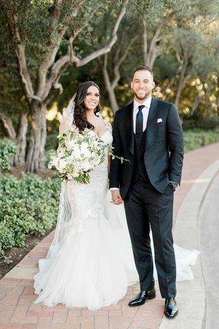 charlise-castro-in-galia-lahav-wedding-dress-groom-in-custom-suit-george-springer-iii-houston-astros