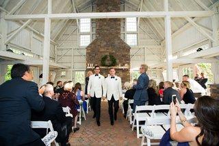 gay-wedding-ceremony-in-a-barn-rustic-wedding-gay-wedding-wood-beams