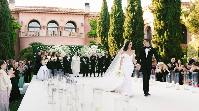 Cheryl Burke & Matthew Lawrence Ceremony