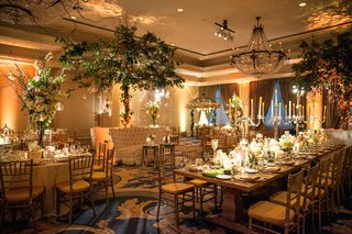 wedding-reception-with-nature-decorations-candelabra-centerpieces