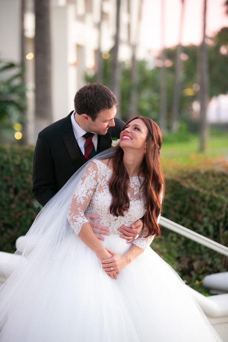 Real Wedding Couple at Park Hyatt Aviara