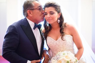 bride-gets-kiss-on-cheek-from-dapper-father-of-bride