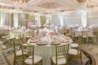 wedding-reception-ballroom-casa-del-mar-blush-ivory-gold-decor-hint-of-blue-elegant-reception