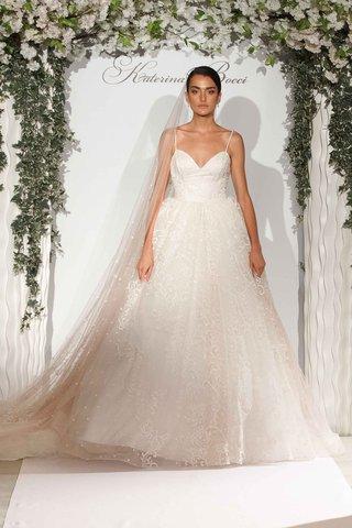 katerina-bocci-2017-bridal-collection-joslyn-ball-gown-spaghetti-strap-long-train-blush-lace-details