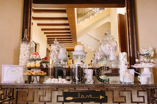 wedding-sweets-table-with-black-marquee-initials-and-sign-saying-love