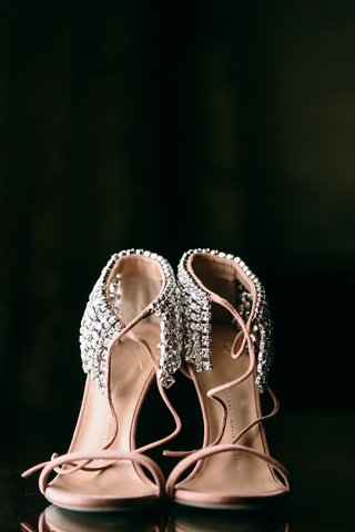 yves-saint-laurent-wedding-shoes-pink-blush-with-crystal-rhinestones-at-ankle-straps