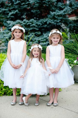 three-flower-girls-in-white-dresses-flower-crowns-and-silver-shoes