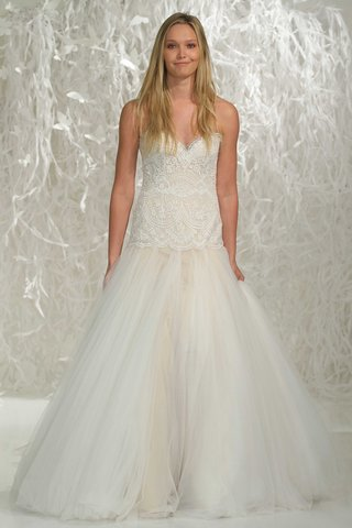 wtoo-brides-2016-strapless-trumpet-wedding-dress-with-drop-waist-lace-bodice