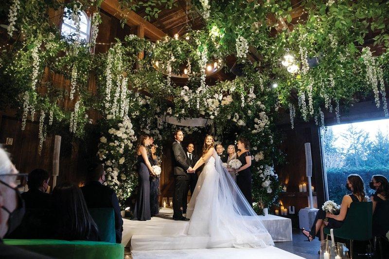 Unique Wedding Ceremony in The Hamptons