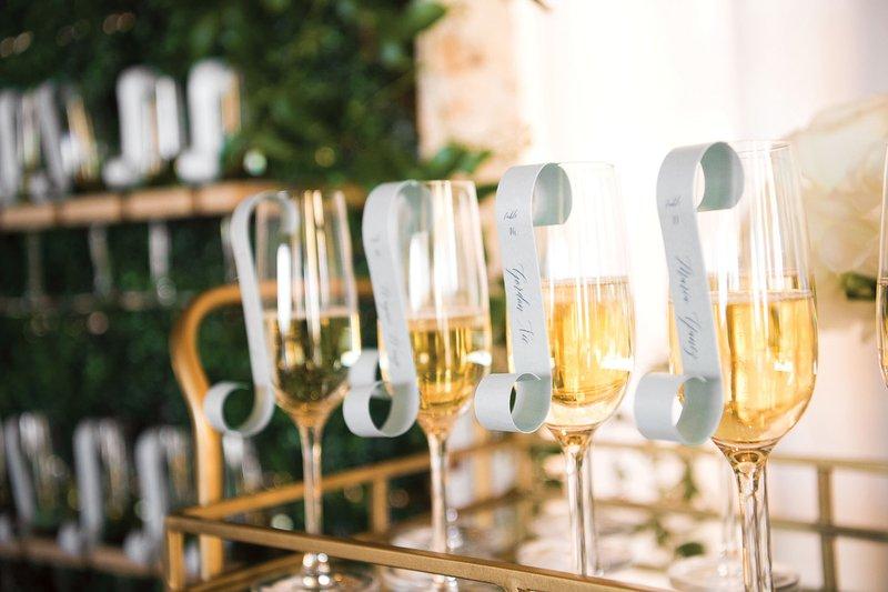 """Unique Champagne Escort """"Card"""""""