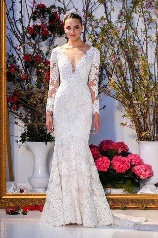 anne-barge-collection-spring-2017-laurel-v-neck-long-sleeve-lace-mermaid-wedding-dress-bateau-neck