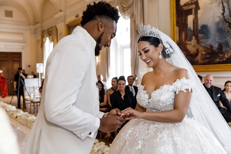 Kayla & Dontae Johnson's Ring Exchange