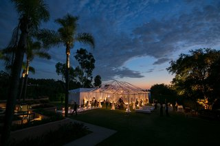 beautiful-view-of-tent-at-dusk-perfect-for-a-warm-summers-night