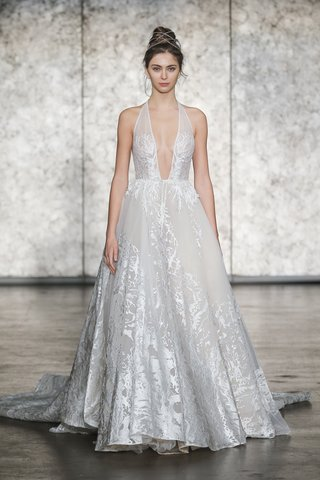 inbal-dror-fall-2018-v-neck-tattoo-embroidered-ball-gown-with-removable-train
