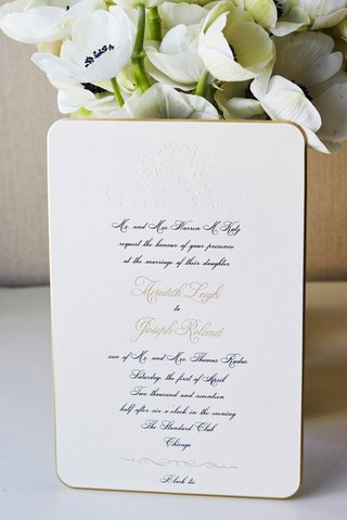 classic-invitation-with-embossed-monogram-calligraphy-gold-border-rounded-corners-black-tie-attire