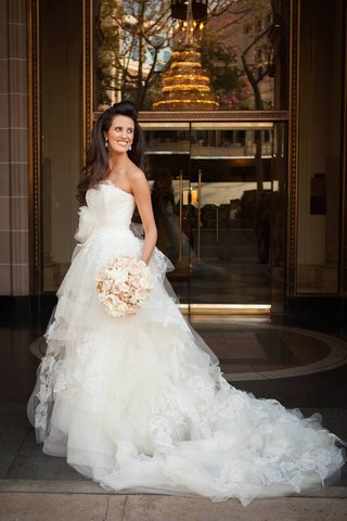 vera-wang-tiered-ball-gown-with-lace-applique-details