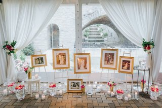 wedding-display-of-parent-and-grandparents-wedding-pictures