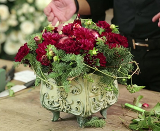 eddie zaratsian lifestyle and design wedding centerpiece winter fall holiday ideas