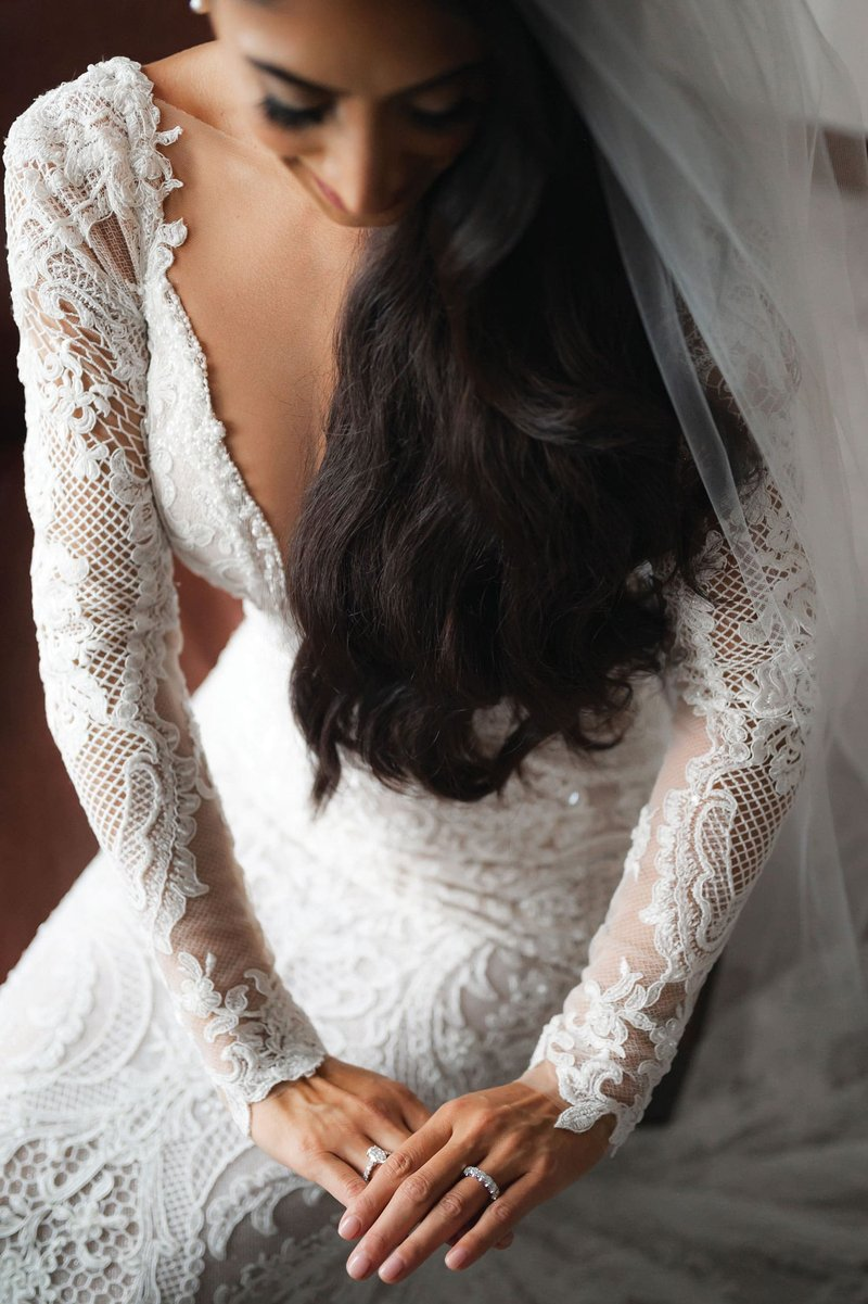 Bridal Portrait in Bridal Reflections Gown