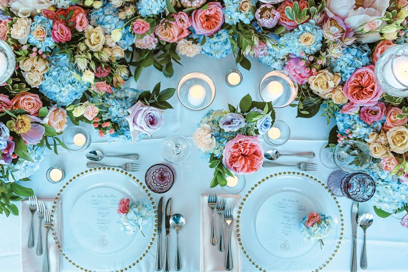 Wedding Décor Inspired by Painting